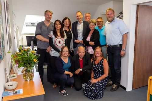 Besuch bei pro:connect in Oldenburg mit Hanna Naber MdL und Ulf Prange MdL.