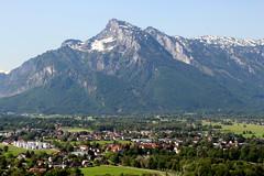 Looking At The Alps (Alan1954) Tags: alps salzburg austria holiday 2019