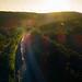 Summit Sunset (benpsut) Tags: drone sandpatch sandpatchgrade csx csxkeystonesub trains railroad bo dronephotography aerial aerialphotography