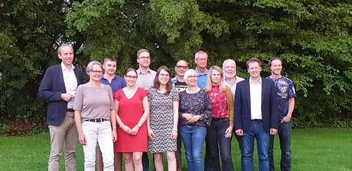 Jahreshauptversammlung der SPD Bad Zwischenahn mit Wiederwahl der Vorsitzenden Katharina Fischer (Mitte).