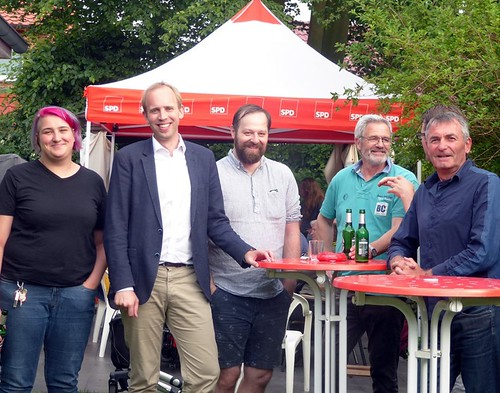 Grillfest der SPD Eversten.