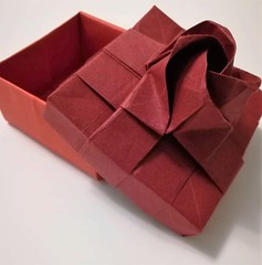 Kawasaki Rose Box (Du-Xiaokang) (Matt Origami) Tags: kawasaki rose box origami