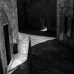 Castle Shadows (marksmith0701) Tags: shadows cast walls hurst castle hampshire solent