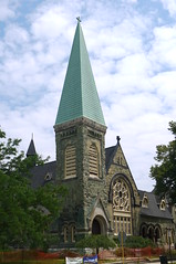 Greenstone Church Steeple (edenpictures) Tags: chicago illinois pullman building architecture
