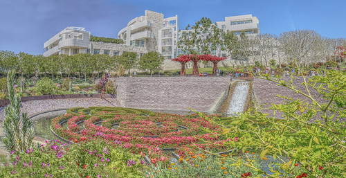 Getty Gardens Panorama