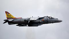 Harrier (Bernie Condon) Tags: hmsheron yeovilton rn navy royalnavy rnas royalnavyairstation airfield airshow display airday aircraft flying aviation bae mcdonnelldouglas harrier av8b matador fighter span amada spanishnavy warplane jet vstol jumpjet