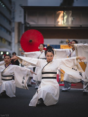祭 (fumi*23) Tags: ilce7rm3 sony sel85f18 85mm fe85mmf18 a7r3 yosakoi miyazaki people