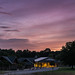 Dusk at Mammoth Cave Visitor Center