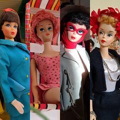 Friend's favorites! (ModBarbieLover) Tags: fashion vintage toys mod doll barbie 1967 openroad tnt mattel je 1961 1964 1960 missbarbie commuterset