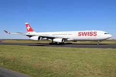 Airbus A340-313 Swiss International Air Lines HB-JMB (Niko Hpx) Tags: airbus a340313 airbusa340313 a340313x 340300x swissinternationalairlines swiss hbjmb msn545 cn545 fwwjl cfmicfm565c4 cfmi cfm565c4 cfminternational lx swr bigplane giantplane quadriréacteur fourengined châteaurouxdéols châteaurouxcentre châteauroux déols training