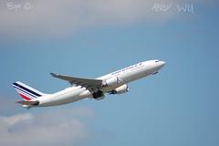 Airbus A330 Air France (Starkillerspotter) Tags: a330 airbus air france takeoff roissy cdg paris departure clouds sky airplane heavies