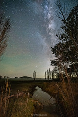 Northerly aspect (nightscapades) Tags: sky night rural stars australia stack astrophotography nsw newsouthwales astronomy canberra stacked sls stacks nightscapes milkyway goulburn southerntablelands galacticcore starrylandscapestacker reflection marulan
