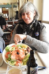 Great Lunch at Les Nympheas Restaurant, Giverny France (Joseph Hollick) Tags: giverny france restaurant food lunch