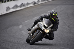Someone on the track (jimmy.richard79) Tags: pete moto motorcycle motocyclette track piste montmagny speedway kawasaki zx10r racer sportbike sport