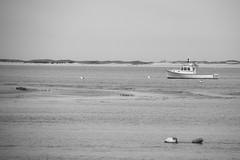 Fishing boat (RubénRamosBlanco) Tags: naturaleza nature paisajes landscapes costa coast mar sea humanos humans pesca fishingboat boat chatham capecod mass usa viajar travel blancoynegro blackandwhite bw