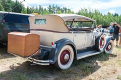 Packard Custom Eight phaeton (The Adventurous Eye) Tags: jk classics summertime 2019 packard custom eight phaeton