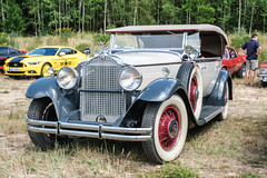 Packard Custom Eight phaeton (The Adventurous Eye) Tags: classics summertime jk packard 2019 custom eight phaeton
