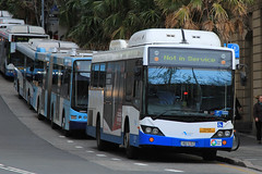 1821-ST, Young Street, Sydney, September 20th 2016 (Southsea_Matt) Tags: 1821st 1821 mercedesbenz customcoaches cb60 evoii sydney newsouthwales australia sydneybuses passengertravel publictransport bus omnibus vehicle canon 60d sigma 1850mm september 2016 spring youngstreet