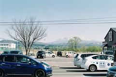A 3-lane street (しまむー) Tags: minolta α9000 af 50mm f17 kodak gold 200