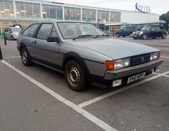 1989 VW Scirocco Gt (carsbusestrainsandtrucks) Tags: vehicle details manufacturer volkswagen model scirocco gt colour blue type car fuel petrol engine size 1781cc bhp 90 age 29 years 11 months registered date 01 august 1989 year