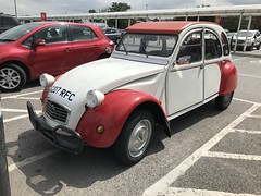 (Sam Tait) Tags: 1989 citroen 2cv 2cv6 dolly 602 602cc red petrol 2 twin cylinder french car classic retro rare old