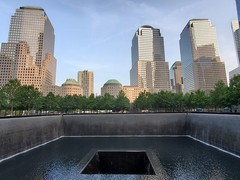 """There's a Whole in the World..."" (Neil Noland) Tags: groundzero worldtradecenter freedomtower lowermanhattan manhattan newyorkcity nyc bigapple newyork"