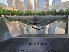 Reflecting the World Around Us (Neil Noland) Tags: groundzero worldtradecenter freedomtower lowermanhattan manhattan newyorkcity nyc bigapple newyork