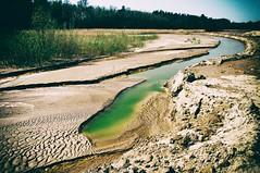 No mans land (Jan Bakker) Tags: emerald water sand