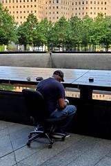 Maintaining the Memorial (Neil Noland) Tags: groundzero worldtradecenter freedomtower lowermanhattan manhattan newyorkcity nyc bigapple newyork