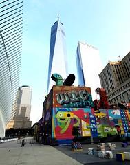 WTC & Freedom Tower (Neil Noland) Tags: groundzero worldtradecenter freedomtower lowermanhattan manhattan newyorkcity nyc bigapple newyork