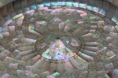 Pearl with light reflexes (hakiprod_) Tags: pearl dome reflex lights macro photography pattern geometrical symmetric