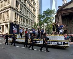 USWNT Parade (Neil Noland) Tags: uswnt lowermanhattan parade manhattan newyorkcity nyc bigapple newyork