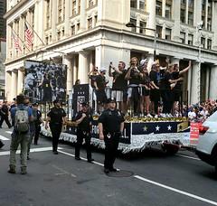 Parade Float (Neil Noland) Tags: uswnt lowermanhattan parade manhattan newyorkcity nyc bigapple newyork