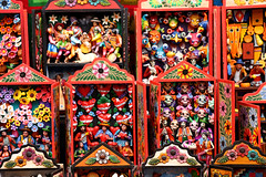 Handicraft in Pisac Market (misseka) Tags: peru sacredvalley pisac craft market handicraft
