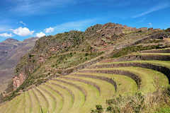 Pisac Archaeological Site (misseka) Tags: peru sacredvalley pisac terrace