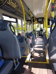 Blackpool Transport 571 (deltrems) Tags: bus public transport blackpool inside interior seats alexander dennis enviro lancashire fylde coast 200