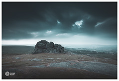 Tor of Dartmoor (picturedevon.co.uk) Tags: haytor rock dartmoor nationalpark devon uk contryside outdoors outside landscape sky clouds le coloe blue forest woods trees sunrise bluehour canon nisi leefilter 6stop picturedevon