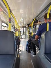 Blackpool Transport 428 (deltrems) Tags: bus public transport blackpool inside interior seats alexander dennis enviro lancashire fylde coast 400 city
