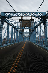 (Sean Davis) Tags: cincinnati johnaroebling ohio bridge suspensionbridge covington kentucky unitedstatesofamerica