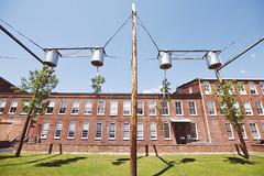 MassMoCA - V (• CHRISTIAN •) Tags: trees usa art museum contemporaryart massachusetts musée arbres massmoca artcontemporain northadams étatsunis wideangle grandangle berkshire