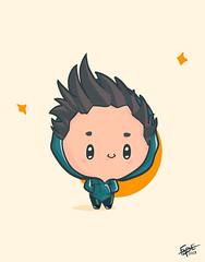 Me! (Ephraim Fowler) Tags: ephraimfowler fade fade✨ art drawing painting illustration cute kawaii fiverr