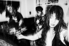 noise & chaos (maxwellkimi) Tags: live dance gig blackandwhite monochrome friends performance girl