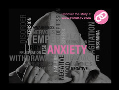 3 Tips to Deal With Anxiety (Pink Kev) Tags: anxiety depression withdrawal agitation nervous disorder mental mentalhealth tension stress suffer freeze pinkkev friends alcohol