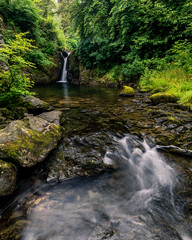Rydal Falls (alanwsmithphotography) Tags: landscape lakedistrict nature naturephotography water waterfall rydal falls trees outside outdoors stream rocks kasefilters nikon nikond750 nikkor national nationalpark