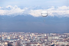 Turijn, The Alps. (parnas) Tags: turijn torino italia alps snow moleantonelliana
