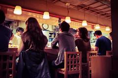 One of the best soba restaurants in Tokyo (Jon Siegel) Tags: nikon nikkor 35mm f14 nikon35mmf14ais 14 d810 people soba restaurant life city boys girls men women dining busy tokyo japan japanese cinematic cinematography