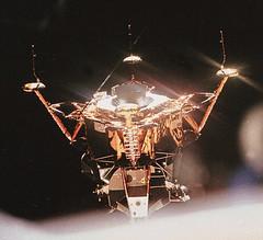 Apollo 11 Lunar Module After Separation (NASA APPEL Knowledge Services) Tags: apollo11 moon lunarmodule lm shine space cosmos