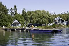 Wireless Bay Cottages (blueheronco) Tags: wirelessbaycottages wirelessbay tobermory ontario canada cabins dock waterfront georgianbay