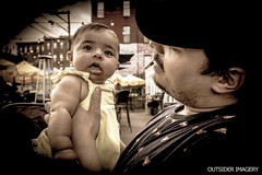 Father and Daughter (Outsider Imagery) Tags: outsiderimagery father daughter baby family people love portrait