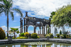 Ujung Water Palace (Adi Vlado Kristanto) Tags: water palace nature green sky garden park bali landscape travel
